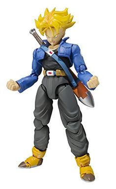 Bandai Tamashii Nations SH Figuarts Trunks Premium Color Edition Action Figure >>> Click image for more details. (This is an affiliate link) #Gundam