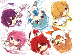 Cute Anime Chibi, Cute Anime Guys, Kawaii Anime, Boy Drawing, Anime Child, Vocaloid, Kaito, Touken Ranbu, Anime Characters