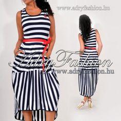 Matróz Csíkos női ruha - AdryFashion női ruha webáruház a6f9a1fbb2