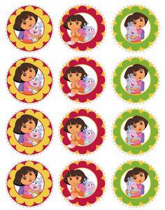 Dora the Explorer Free Printables.