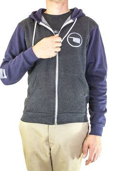 You can be warm and comfortable in style with this classic This Land hoody. $48