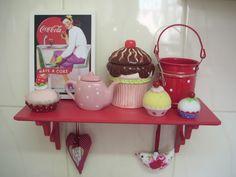 Cute kitchen! A linda cozinha da Helena