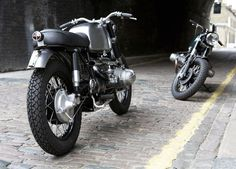 The UNTITLED Motorcycles Of Camden Town | Yatzer