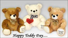 Cute Teddy Day 2017 Images for Lovers