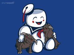 Gozer the Adorable. #GHOSTBUSTERS STAY PUFT MARSHMELLOW MAN #1980s