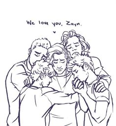 It's a sad day today for One Direction and our Directioner family, but we must all stay strong and support one another, the boys, and most of all Zayn.  Although it pains us, this is what he wants so that he can achieve his happiness.  Even though he is now not part of the group we should still support and love him because in all honesty, he will always be in One Direction <3