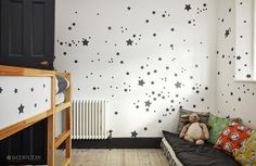 if you have an interesting pattern on a wall you can easily repeat it on a ikea…
