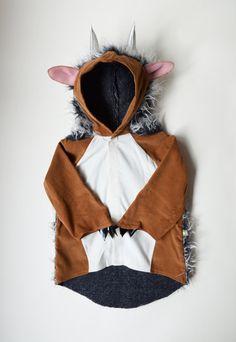 Special model Gruffalo costume The wild guys monster door maiiberlin