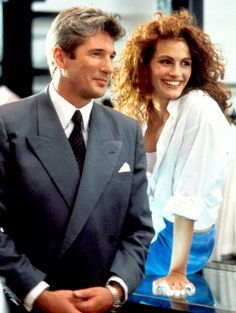 Richard Gere and Julia Roberts from Pretty Woman. I can watch this movie over and over again.