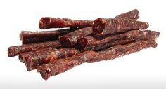 """Droëwors (Afrikaans meaning """"dry sausage"""") is a popular South African snack food, based on the traditional, coriander-seed spiced boerewors sausage. The recipe used for these dried sausages is similar to that for boerewors. Dried Meat Recipe, South African Tribes, Sausage Recipes, Meat Recipes, Biltong, South African Recipes, Coriander Seeds, Special Recipes, Spice Mixes"""