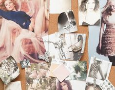 I love vintage jewelry, not only to wear but also to hang around the space I'm in. I usually have luck at flea markets or The Way We Wore. The necklace in the center is one of my favorites and often makes appearances in paper crown lookbooks. It's an old hair barrette turned into a necklace. When I am designing for LC Lauren Conrad jewelry, most of the collection is inspired by vintage pieces.