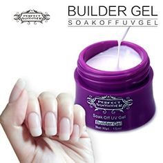 Perfect Summer 15ml Gel UV Couleur Ongle Extension Base de Vernis Nail Art French Manucure #1