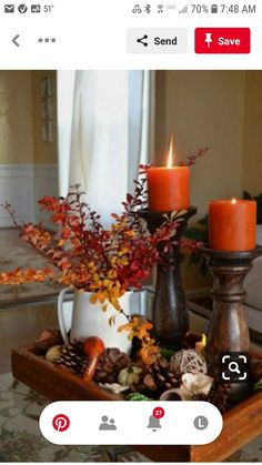 Thanksgiving Diy, Thanksgiving Decorations, Decorating For Thanksgiving, Christmas Decor, Halloween Table Decorations, Scary Decorations, Cowboy Christmas, Thanksgiving Table Settings, Winter Decorations