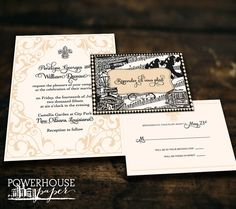 12 Best New Orleans Wedding Stationery images   New orleans ...