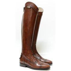 Secchiari Antique Punched Top Long Boots