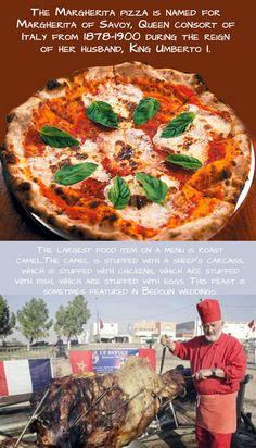 Margherita Pizza & Roast Camel