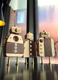 Woodbot Friends on Behance