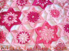 beautiful mix of crochet and fabric
