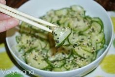 Veganana: Sunomono, Salada de Pepino Agridoce