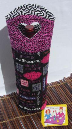 Wine Bag  Shopping  GirlsNightOut Divas by Wine2The9s on Etsy, $22.50