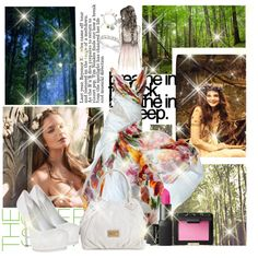 """""""In the forest, no one can't see us!!"""" by magictrickinwonderland on Polyvore"""