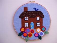 Embriodery Hoop picture by bunny mummy, via Flickr