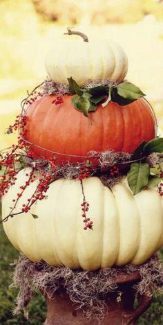 Pumpkin pillar