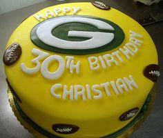 Terrific 11 Best Packers Cake Images Packers Cake Cupcake Cakes Packers Personalised Birthday Cards Veneteletsinfo
