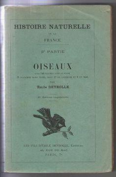 1901 - Oiseaux de Deyrolle Emile - Achat vente neuf occasion - PriceMinister