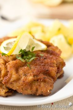 Viennese Schnitzel is one of the most popular dishes in Austria and Germany.