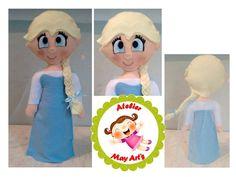 Elsa em feltro