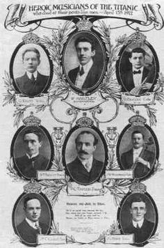 The Ship's musicians who died with the Titanic