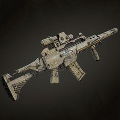 An another paint scheme for the Weapons Guns, Guns And Ammo, G36c, Long Rifle, Military Guns, Assault Rifle, Modern Warfare, Tactical Gear, Airsoft