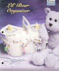 Little Bear Organizer Plastic Canvas by needlecraftsupershop, $3.50