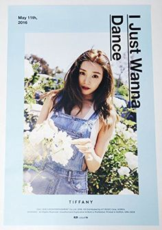 TIFFANY Girls' Generation - I Just Wanna Dance [OFFICIAL POSTER] Type-A