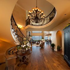 TOMMIE AWARDS 2013 SILVER FINALIST - FRAME CUSTOM HOMES - Mediterranean - Staircase - other metro - by Norelco Cabinets Ltd