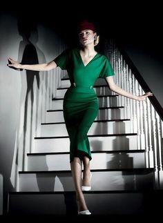 Green Dress #2dayslook #sasssjane #duongdayslook #GreenDress www.2dayslook.com