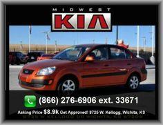 2009 Kia Rio SX Sedan   Strut Front Suspension, Vehicle Emissions: Ulev Ii, Seatbelt Pretensioners: Front,