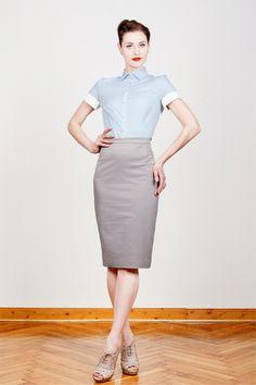 Bluse Emma ist aus 100% Bio-Baumwolle und wurde mit viel Liebe unter Beachtung von Fairness und Umwelt gemacht. Tailliert geschnitten trägt sie sic...