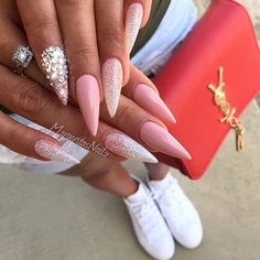 "1,096 Likes, 7 Comments - @instaglam1403 on Instagram: ""@margaritasnailz   #nails #nail #fashion #toptags @top.tags #nailart #nailpolish #polish…"""