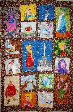 Disney quilt along free Disney paper piecing patterns quilt