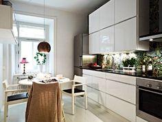 дизайн кухни в квартире студии фото