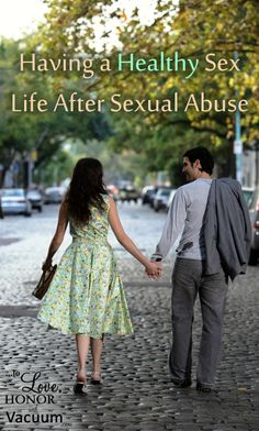 "No, I've not been sexually abused, but I know far to many who have been. This is a Christian perspective on having a healthy intimacy within marriage, while healing from past abuse.  ""Having a Healthy Sex Life After Sexual Abuse"" - To Love, Honor and Vacuum"