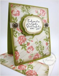 Stampin' Up! Card  by Linda Aarhus at Polka Dots and Paper: Trust God