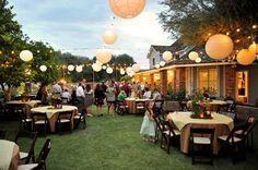 Decorations: Backyard Wedding Reception Budget, wedding decor ...