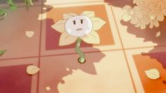 Confused Flower by Hachimitsubani on DeviantArt Flowey La Flor, Lesser Dog, Flowey The Flower, Fox Games, Undertale Fanart, Undertale Flowey, Link Art, Tumblr Pages, Toby Fox