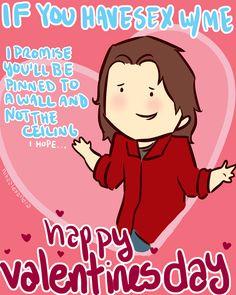 nefertiti-is-my-division: nikaalexandra: ... - Supernatural Valentines