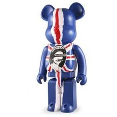 Sex Pistols: 400% Be@rbrick: God Save The Queen