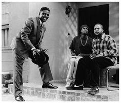 Bernie Mac with Chris Tucker and Ice Cube