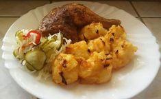 Gánica (dödölle), gyerekkoromban nagy kedvenc volt, most újra elkészítettem! Nálatok mi a neve? - Bidista.com - A TippLista! Cauliflower, Chicken, Vegetables, Food, Snow, Head Of Cauliflower, Veggies, Cauliflowers, Veggie Food
